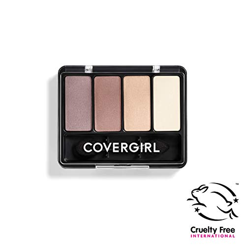 COVERGIRL Eye Enhancers 4-Kit Eye Shadow, Urban Basics (Packaging May Vary)