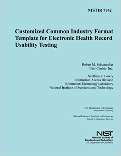 NISTIR 7742: Customized Common Industry Formal Template for ...