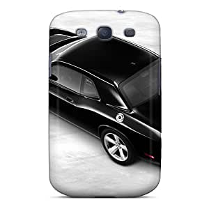 Best Cell-phone Hard Cover For Samsung Galaxy S3 With Support Your Personal Customized Colorful Dodge Challenger Image JonathanMaedel