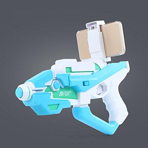 YIXIN AR Guns Magiques Enfants Pistolets de Jouets Jeu 3D Simulation Gun Boy Toy Gun Cadeau ( Color : Bleu )