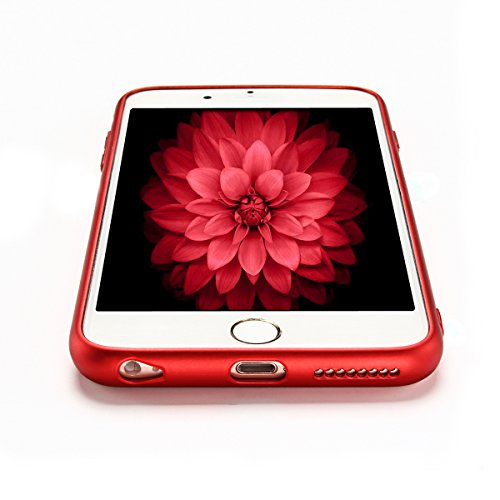 Cover IPhone 6/6S,case IPhone 6/6S,E-LushUltraSottileMorbidoTPUCustodiaperIPhone 6/6SCover,AntiscivoloCaseBumperper IPhone 6/6SCover,FlessibileSiliconeCassaGommaOpacoCaseAntiscivol