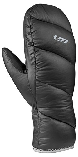 Louis Garneau Women's Transition 2 Mitts, Black, (Garneau Womens Glove)