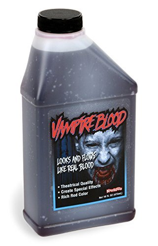 Pint of Blood; Halloween, Vampire Blood; 16 (Halloween Fake Blood)