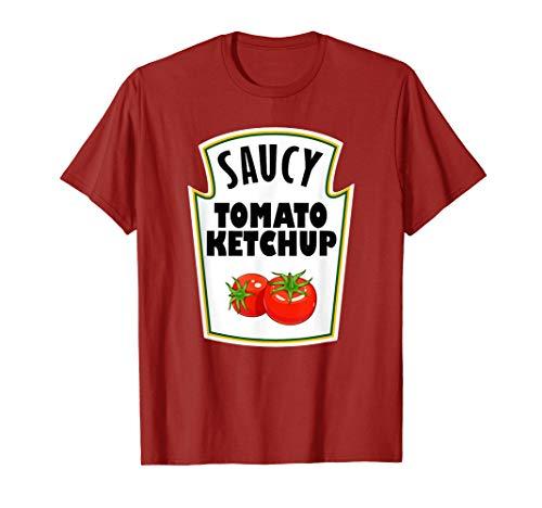 Halloween Costume Ketchup T-Shirt Group Mustard