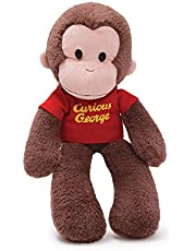 GUND Curious George Take Along Monkey Stuffed Animal Plush, 15""