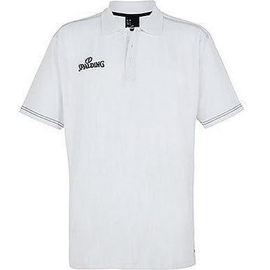 Spalding Slim Cut Polo, Hombre, Negro, S: Amazon.es: Ropa y accesorios