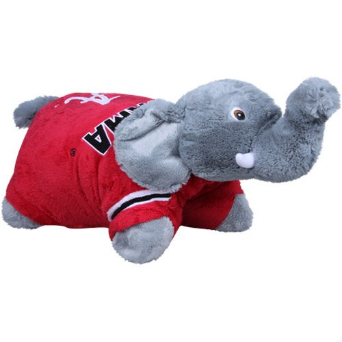 NCAA Alabama Crimson Tide Pillow Pet (Alabama Crimson Tide Applique)