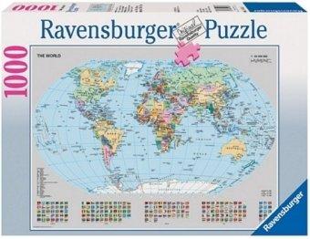 Ravensburger Puzzle Politische Weltkarte Unknown 9783473676651