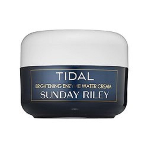 Enzyme Brightening (Sunday Riley Tidal Brightening Enzyme Water Cream, 1.7 fl. oz.)