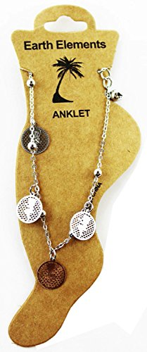 Betty Boop Dangle Anklet (Silver Tone) ()