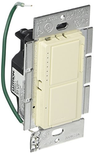 Lutron MA-L3S25-LA Maestro 300 Watt Single-Pole Dual Dimmer