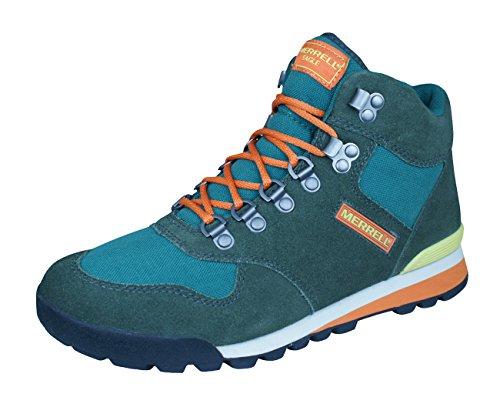 Merrell Telluride Mid Waterproof Para hombre zapatos de senderismo Green