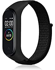 Xiaomi Mi Band 4 and 3 Black Fabric Bracelet Only No Watch
