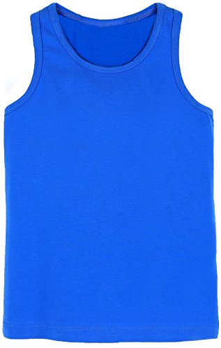 (Lilax Girls' Racerback Tank Top 5T Royal Blue)