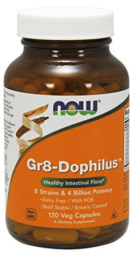 NOW Gr8 Dophilus 120 Veg Capsules