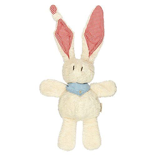 Keptin-Jr Organic Cotton Bunny Tjumm with Red Ears -