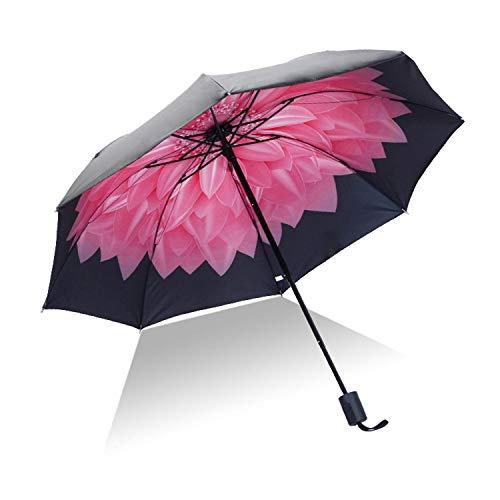 Sun Rain Umbrella Uv Protection Windproof Folding Compact Outdoor Travel Umbrellas Best Price,P
