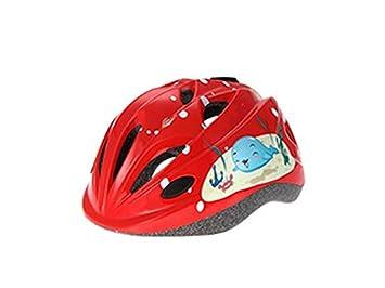 GYwink Guay Patrón de Niños Impresos Casco Casco de Seguridad Ajustable Casco para Ciclismo para Niños