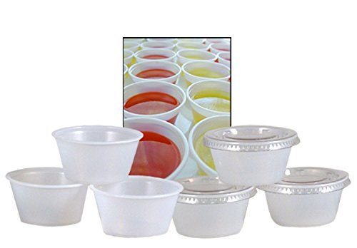 Emmner-Durable-Plastic-Jello-Shot-Cups-and-Lids-Translucent-2-Ounce-Package-of-100