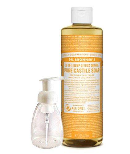 Dr. Bronner's Castile Liquid Hand Soap Citrus (Tees Biodegradable 5)