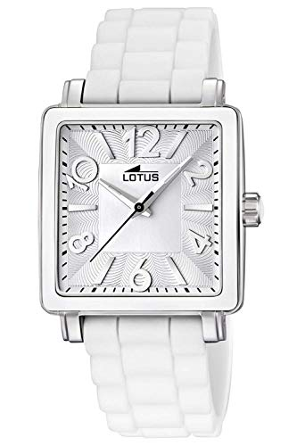 Lotus Glee Womens Analog Quartz Watch with Rubber Bracelet 15741/1