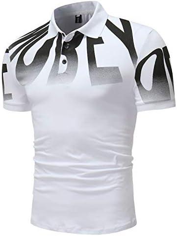 OLLOLCCY Camisetas Polo para Hombre Manga Corta Impresión Digital ...