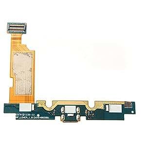 Cargador USB puerto de carga del muelle Flex Cable con el Mic para LG Optimus E970