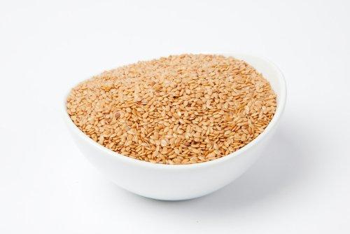 Seeds 10 Lb Case - Organic Golden Flax Seeds (10 Pound Case)
