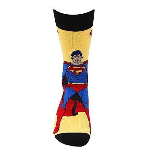 Superman Crew Socks For Men by Bonjour