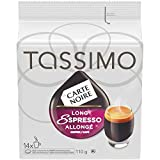 Tassimo Carte Noire Long Espresso Single Serve T-Discs, 14 T-Discs