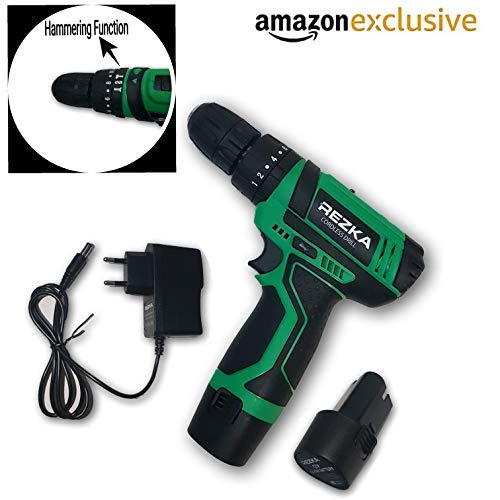 Tools Centre World Class Cordless Screwdriver Machine With Hammering Function & Drill Bits.