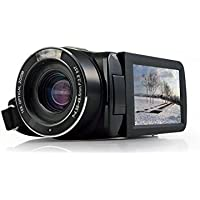 MARVIE 10x Optical Zoom video camera HDV-Z80 1080P DV 3.0 TFT LCD screen max 24MP digital HD Face Detection Touch screen camcorder