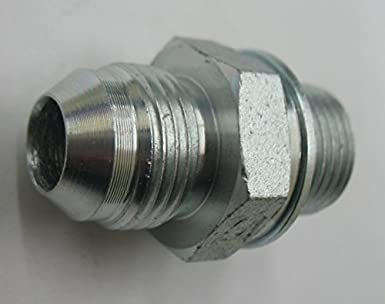 "MHM12//06 Brass Hosetail Adaptor Metric Male M12 x 1.5 Hosetail 3//8/"" 10"