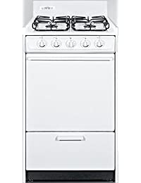 Summit WTM1107S Kitchen Cooking Range, White