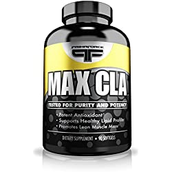 Primaforce Supplement, Max CLA Capsules- Linoleic Acid Aids Fat Loss, Increases Lean Mass- 90 Count