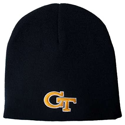e946d17ffb7 Image Unavailable. Image not available for. Color  Top of the World Georgia  Tech Yellow Jackets EZ DOZIT Beanie