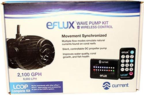 - Current USA 6002 2100 GPH eFlux Wave Pump Kit