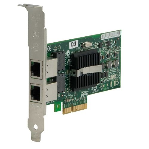 HP 412648-B21 NC360T PCI-Express DP GigaBit Adapter Remote I/o Adapter