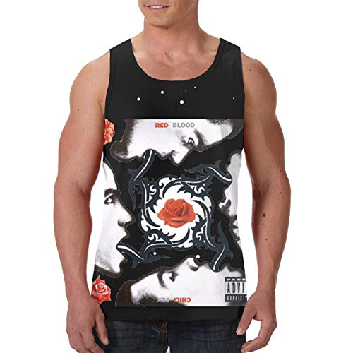 AvisN Men's Red Hot Chili Peppers Blood Sugar Sex Magik Basic Muscle Tank Top Jersey XL