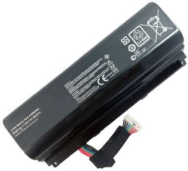 G751 amsahr Extended Performance Replacement Battery for ASUS A42N1403 A42LM93 G751J A42N1403 88Wh, 8 Cells