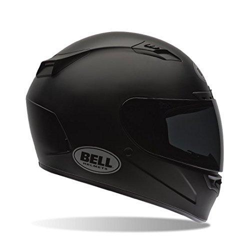 New 2016 Bell Vortex Motorcycle Helmet Matte Black Solid – Medium