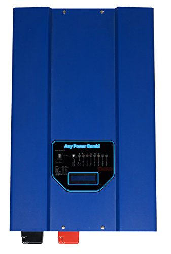 GTPOWER 12000W Peak 36000W Low Frequency SP Pure Sine Wave Inverter 120A Battery Charger Solar Converter DC 48V AC 220V 230V 240V AC Priority Battery Priority Switch LCD New by SUNGOLDPOWER