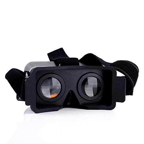 DIY 3D Google Cardboard Head Mount Plastic Version 3D VR Virtual Reality Video Glasses For ipohne 5/5s/5c