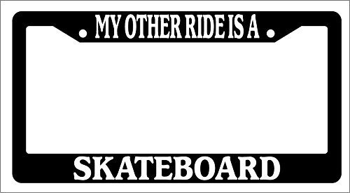 license plate frame skateboard - 9