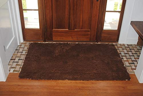 Soggy Doggy Doormat – Plain – No Bone Dog Doormat Dirty Wet Dog Absorbent Non Slip Machine Washable and Dryer Friendly