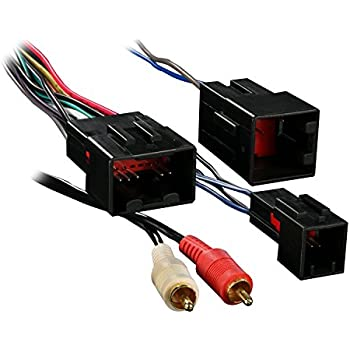 410c6 yiETL._SL500_AC_SS350_ amazon com metra 70 5521 radio wiring harness for ford 03 up amp Ford Car Radio Adapters at bayanpartner.co