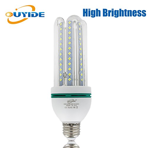 led corn light bulbs 150 watt equivalent 1760lm 16w a19 led bulbs. Black Bedroom Furniture Sets. Home Design Ideas