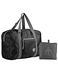 Tinyat T302 Foldable Travel Duffel Bag, Super Lightweight Only 9.8 Oz, for Luggage, Sports Gear or Gym