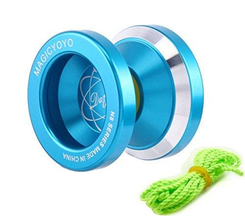 MAGICYOYO N8 Aluminum Metal YoYo Unresponsive YoYo - Blue by MAGICYOYO
