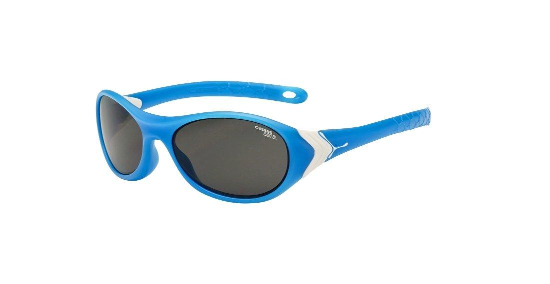 Cebe Cricket Lunettes de soleil Enfant Shiny Blue 1500 Grey BL VSYB0